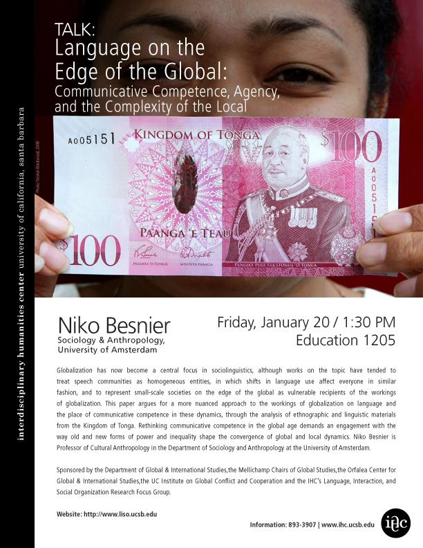 on the edge of the global besnier niko
