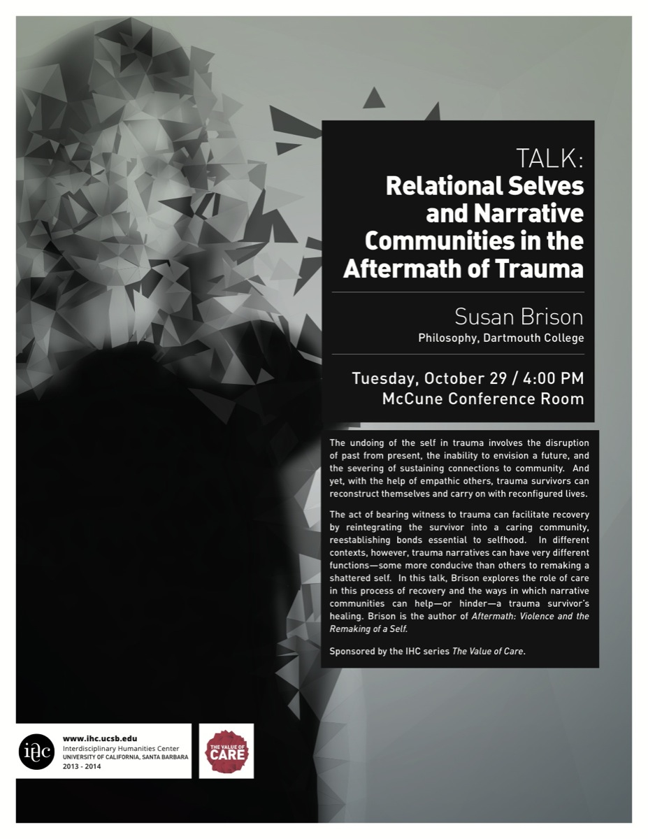 Relational Selves and Narrative Communities in the Aftermath of