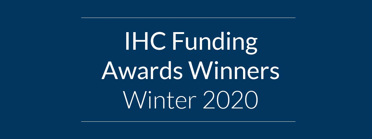 Funding Awards Winners Winter 2020