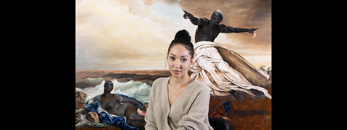 Regeneration Artist Talk: Harmonia Rosales