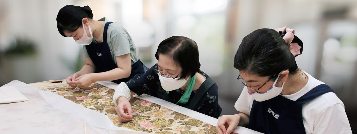 Monica Bethe: Ensuring the Future of Historic Textiles: The Case of a Japanese Empress's Court Gown.